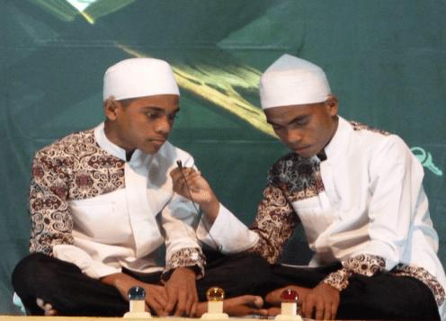 Ardianto dan Usman Qori Pondok Pasantren Cijantung 7 Kalabahi