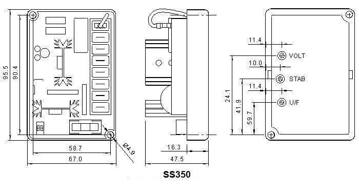 Sx460 Avr Wiring Diagram Pdf SX460 Manual • Wiring