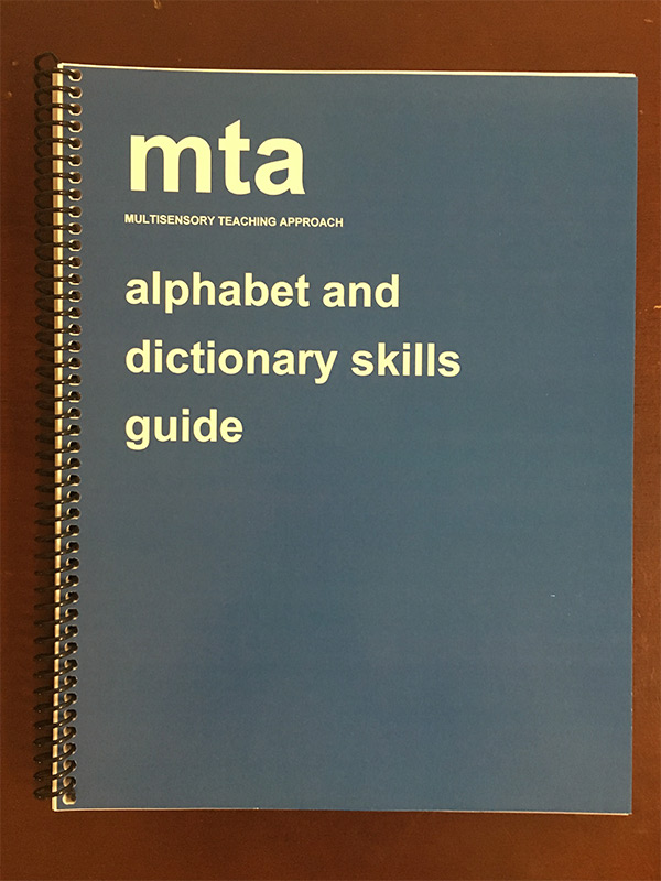 alphabet and dictionary skills guide mts publications