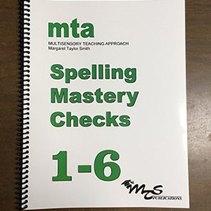 Spelling Mastery Checks 1-6