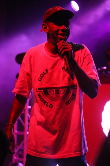 Tyler, the Creator performs at the Sloss Music & Arts Festival in Birmingham, Ala., on Sunday, July 19, 2015. (MTSU Sidelines / John Connor Coulston)