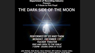 """Us and Them will perform Pink Floyd's """"The Dark Side of the Moon"""" Monday, Dec. 1, 2014 in MTSU's Tucker Theatre. The band is comprised primarily of MTSU faculty and students. (FILE/MTSU)"""