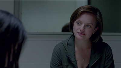 Elisabeth Moss as Detective Robin Griffin in season one of BBC and Sundance's Top of the Lake.