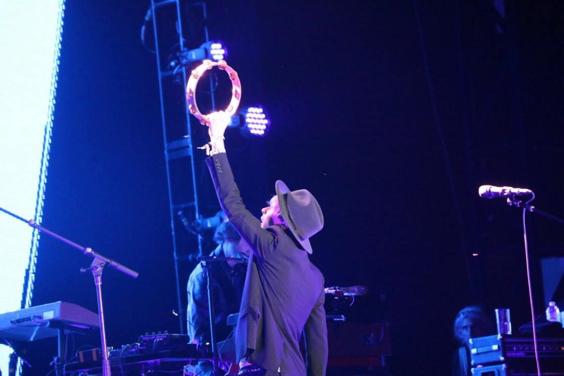 Beck performs at the Forecastle Festival in Louisville, Kentucky on Sunday, July 20, 2015. (MTSU Sidelines / John Connor Coulston)