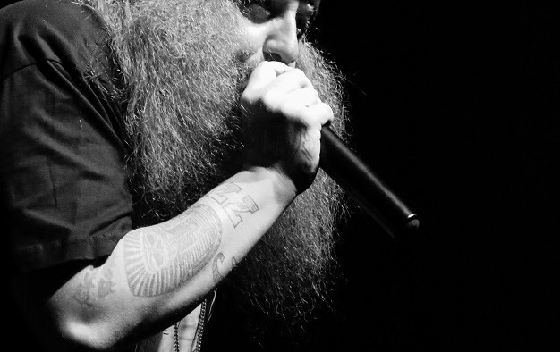 """Rapper Rittz performs at Marathon Music Works in Nashville, Tenn. on Tuesday, Dec. 21, 2014. Rittz was opening for Yelawolf on the final stop of his """"Slumerican Made"""" tour. (MTSU Sidelines/Matt Masters)"""