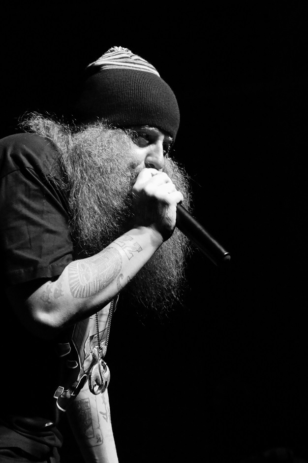 "Rapper Rittz performs at Marathon Music Works in Nashville, Tenn. on Tuesday, Dec. 21, 2014. Rittz was opening for Yelawolf on the final stop of his ""Slumerican Made"" tour. (MTSU Sidelines/Matt Masters)"