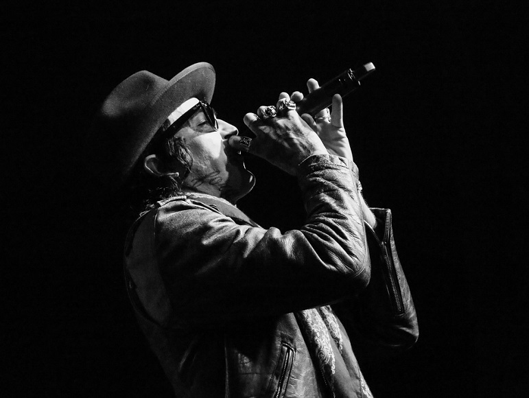 "Rapper Yelawolf performs at Marathon Music Works in Nashville, Tenn. on Tuesday, Dec. 21, 2014. Nashville was the final stop of his ""Slumerican Made"" tour. (MTSU Sidelines/Matt Masters)"