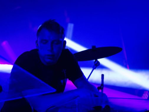 Clayton Knight of ODESZA performs at the Bonnaroo Music and Arts Festival in Manchester, Tenn. on Friday,  June 12, 2015.  (MTSU Seigenthaler News Service / Matt Masters)