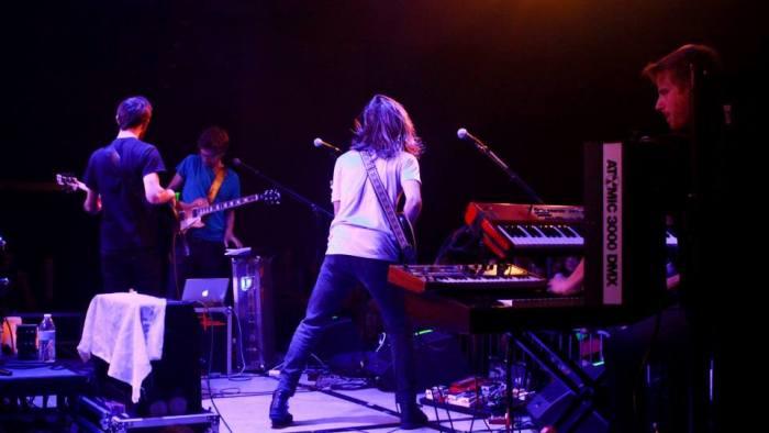 Moon Taxi performs at MTSU's Student Union Ballroom in Murfreesboro, Tenn. on Tuesday, October 1, 2013. (MTSU Sidelines / Brett Turner)