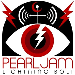 "The album artwork for Pearl Jam's ""Lightning Bolt"" (FILE)"