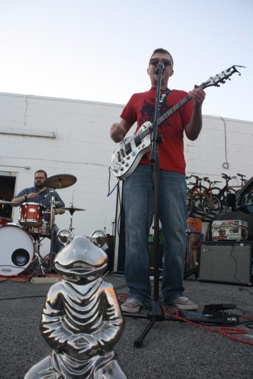 Thunderfrog performs at Boro Fondo Bazaaro Saturday. (Sidelines / Wesley McIntyre)