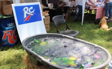 RC Cola is the go-to refreshment at the RC-Moon Pie Festival. (Tayhlor Stephenson / Sidelines)