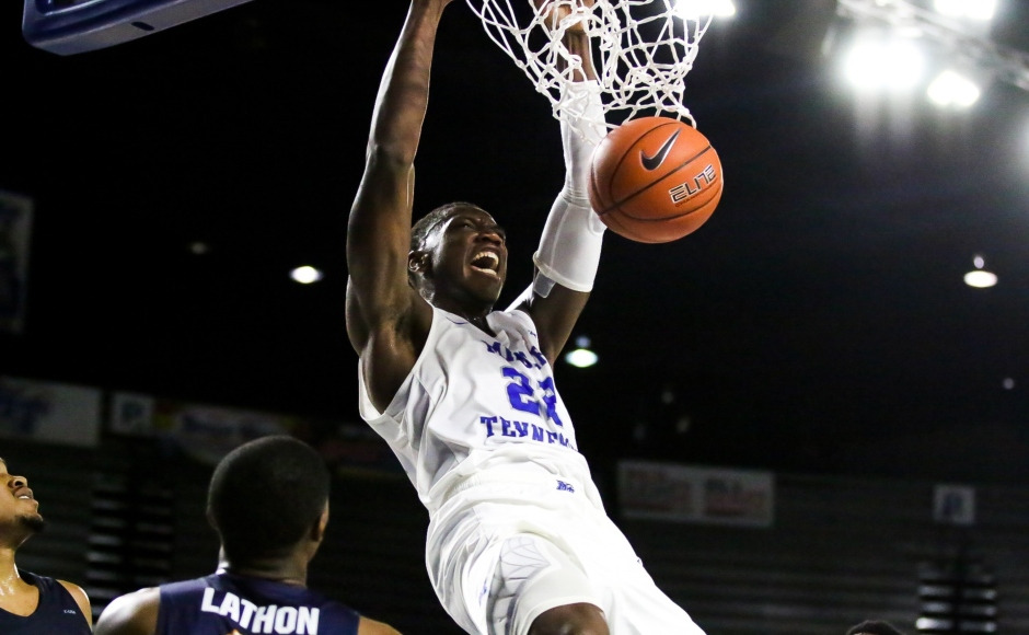 Men's Basketball: Raiders rally for second C-USA win over UTEP