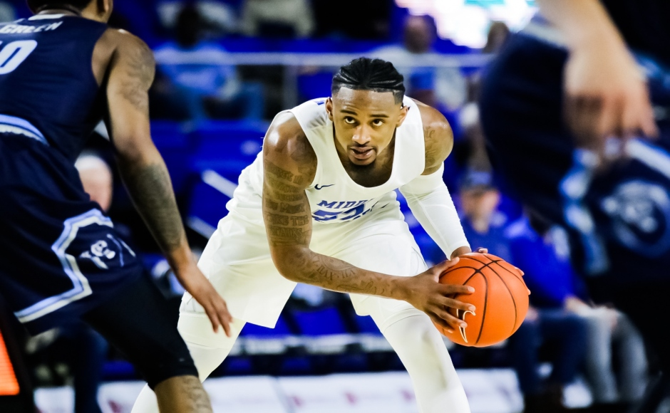 Men's Basketball: Costly turnovers spoil Blue Raider comeback attempt against Old Dominion