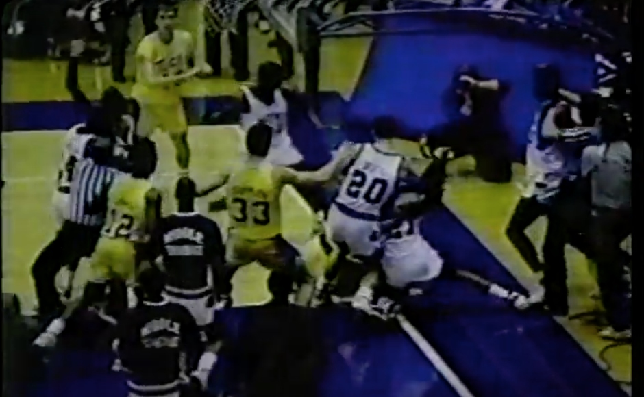 'The Melee in Murfreesboro': Re-visiting the infamous fights that defined a heated basketball rivalry