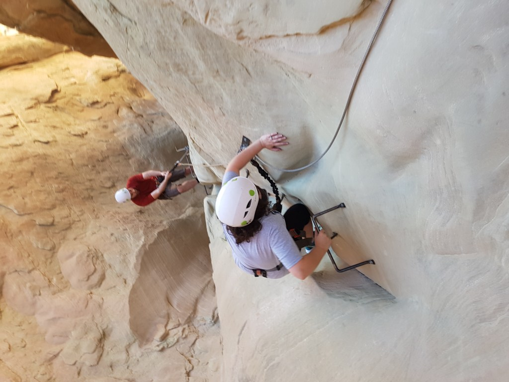 I can't reach anything amangiri via ferrata