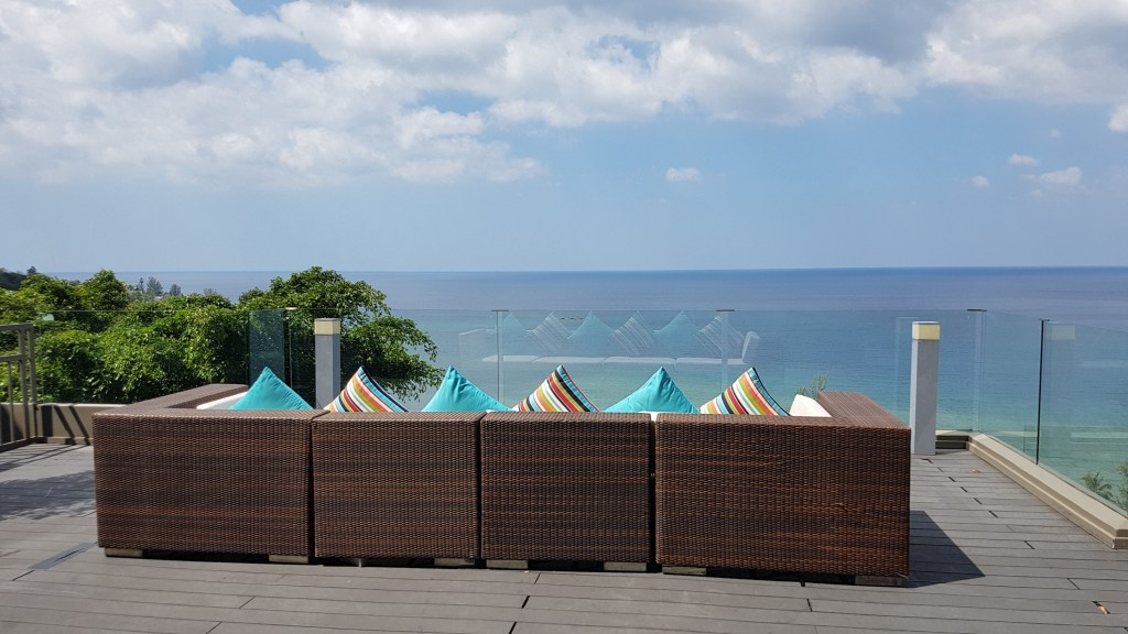 hill top regency suite our private deck
