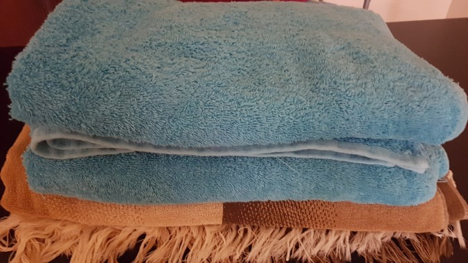 Some of our big fluffy towels