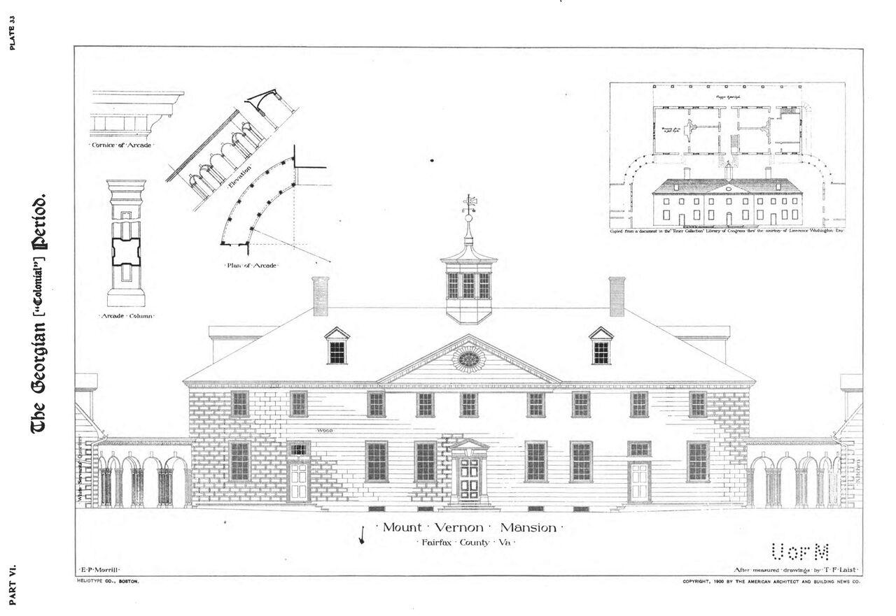 Mount Vernon and American Domestic Architecture · George