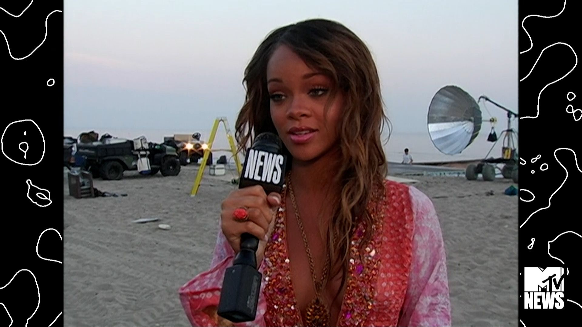 Interview  Rihannas Always Been an Artist  2005 MTV
