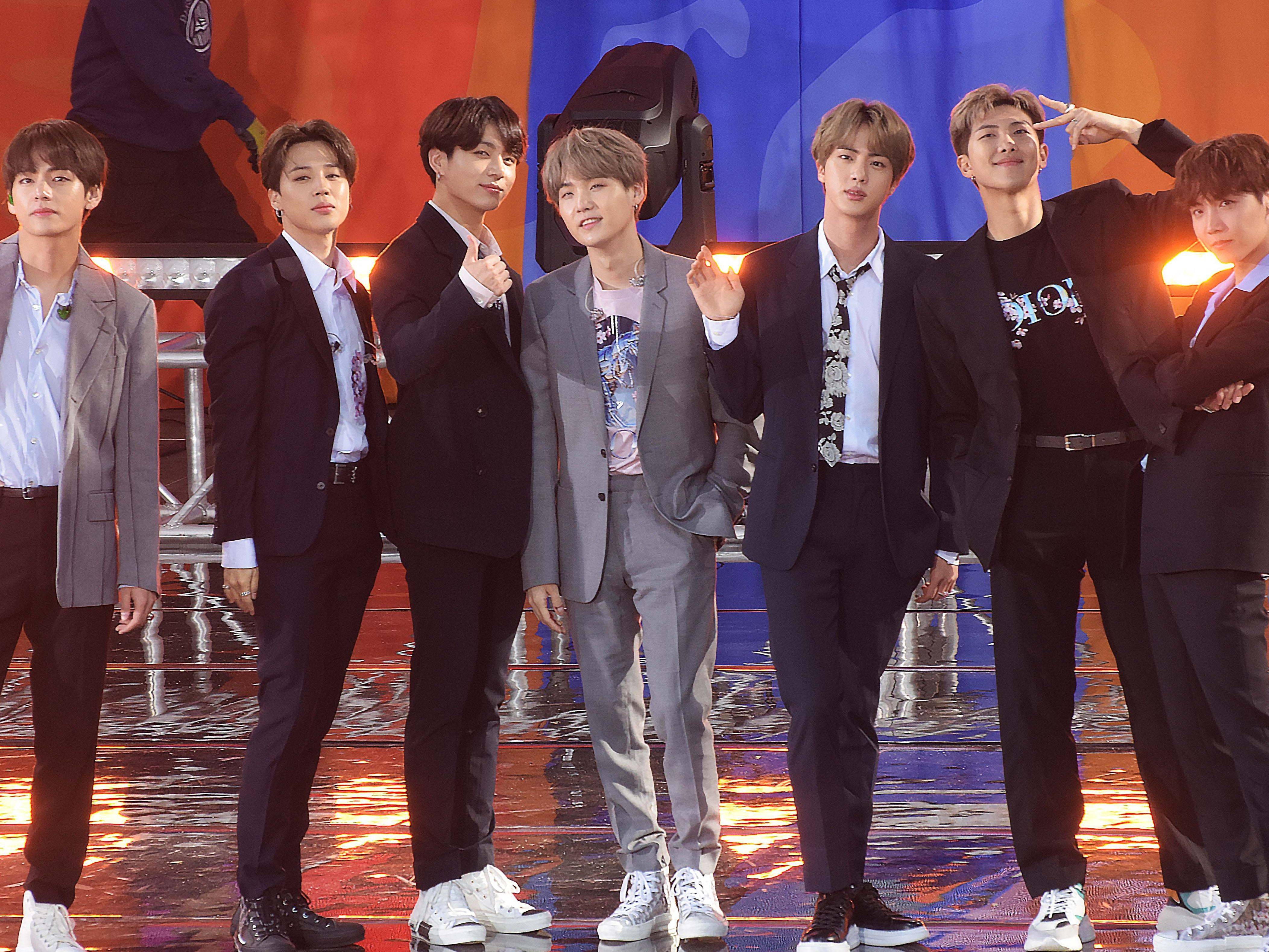 bts brought songs of