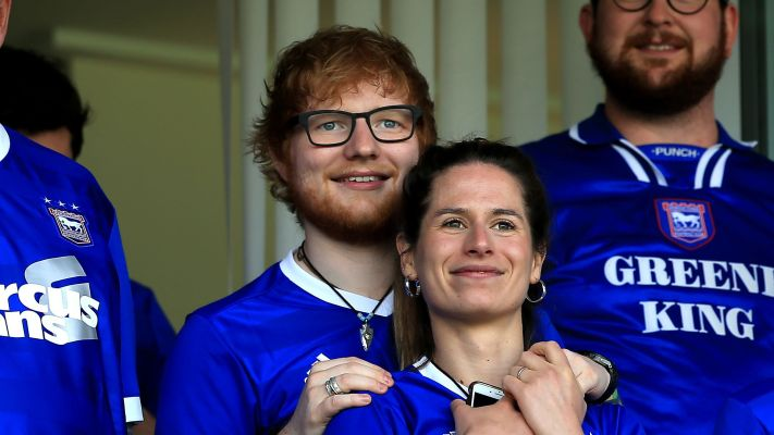 Ed Sheeran Is In Fact Married Now, As He Raps On His New Song With Eminem And 50 Cent