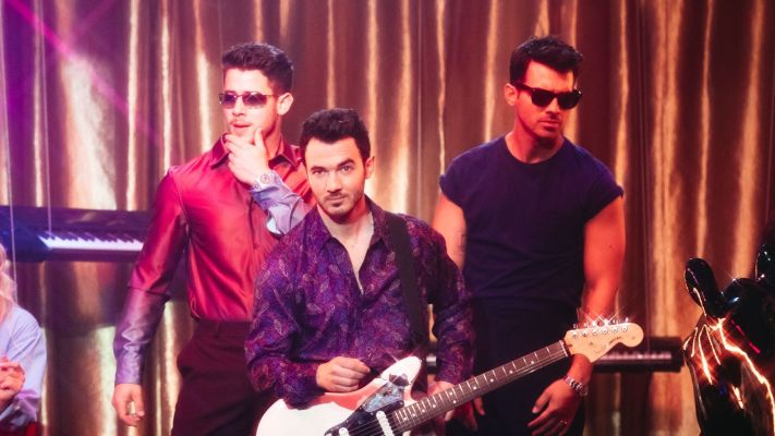 Jonas Brothers Serve Up '80s Hotness In Their Super-Suave 'Only Human' Video