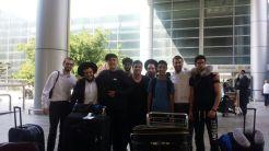 MTV seniors arriving in Israel
