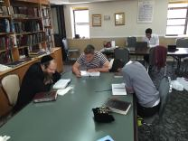Learning with Rabbi Yitzchuck