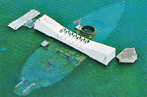 Image result for Pearl Harbor Arizona Memorial