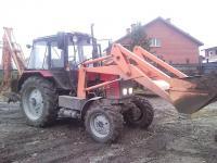 МТЗ-892 с ковшом