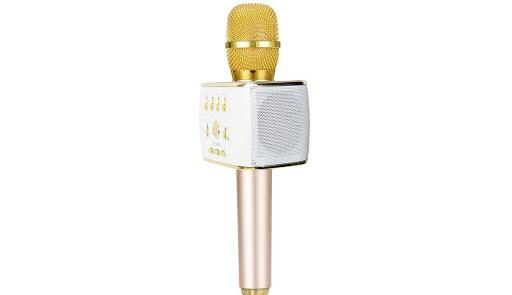 Mic Karaoke kèm loa Bluetooth và SDP iCore M9