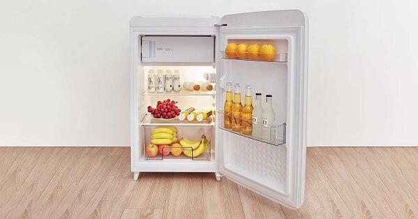 Tủ lạnh mini Aqua AQR-95ER-SS