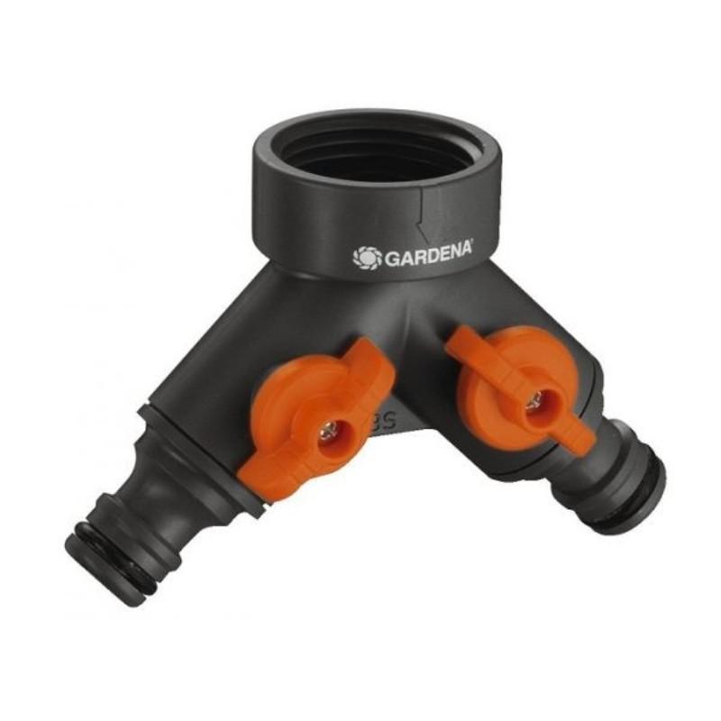 Cút nối vòi đôi có van điều chỉnh