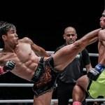 muay thai Kicking