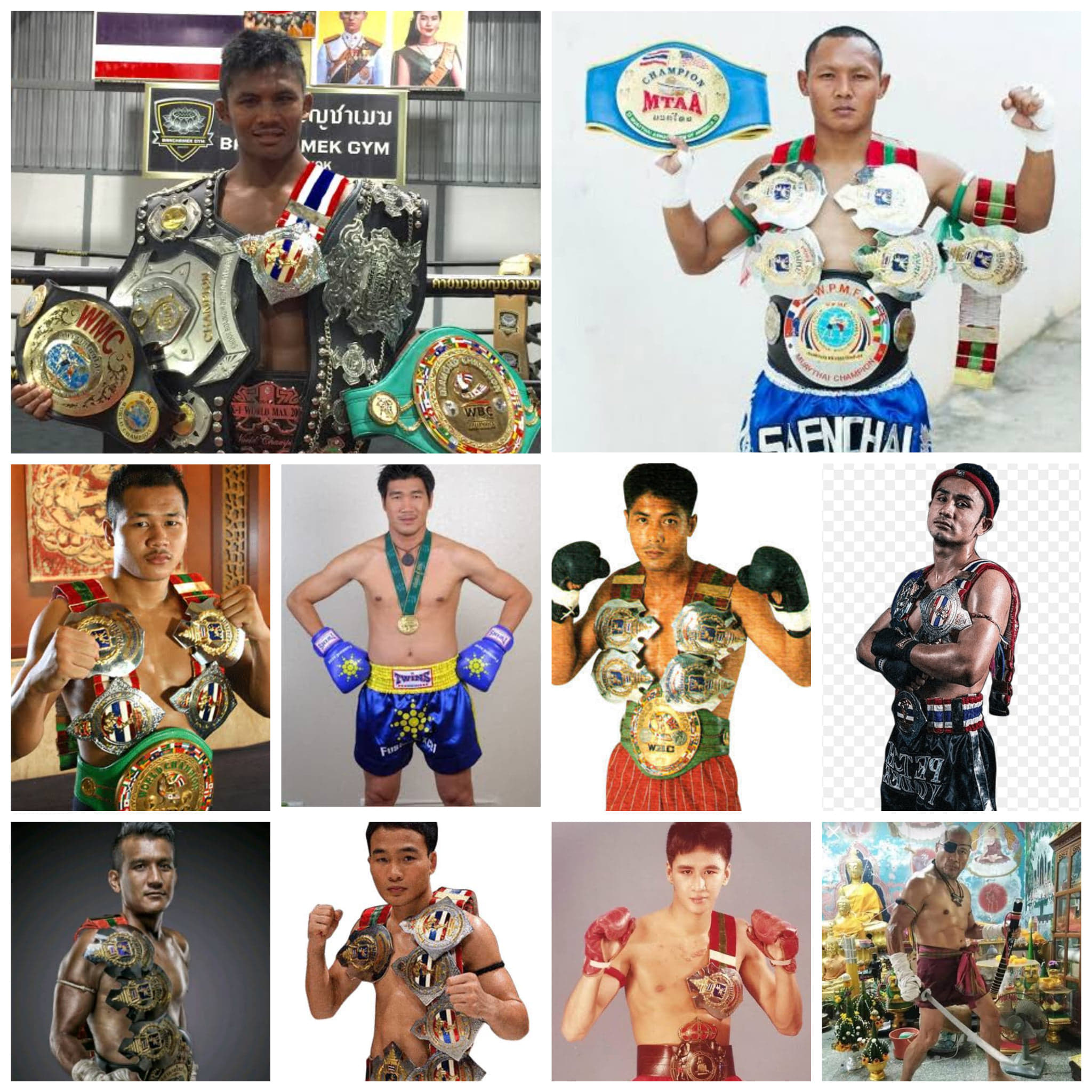 Top 10 Muay Thai Fighters