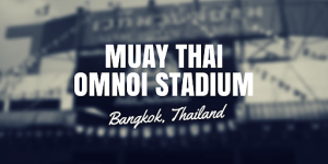 Muay Thai Stadium In Thailand