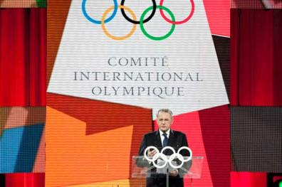 Jacques Rogge, President of the IOC