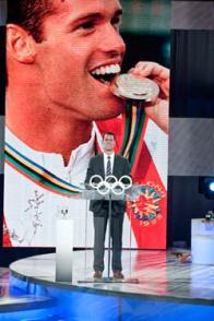 Mark Tewksbury, Chef de Mission of the 2012 Canadian Summer Olympic team