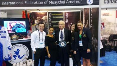 Mr Ron Froehlich visits the IFMA booth
