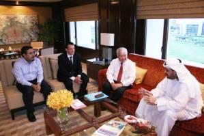 His Royal Highness Ahmad Al-Fahad Al-Sabah with IFMA