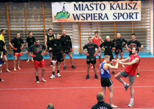 Preparations for WC 2012 - Sparring