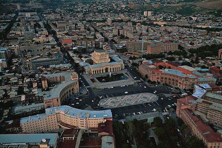Yerevan City square