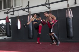 Muaythai training
