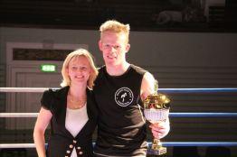 Fighter of the event Kasper Tobberup