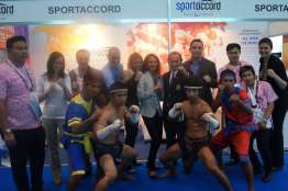 SportAccord booth