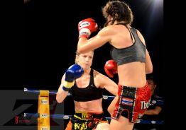 2. Z1 Female Champion Title Fight, 56 kg, Miriam Muay Farang vs Dilara Yildiz (2)