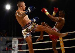 4. 2nd Semi Finals Super 4, 57 kg, Jordan Coe vs Leonard Shujaa (2)