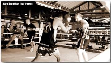 Me western boxing sparing with Kru Eid