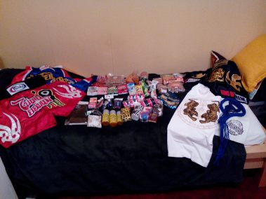 All that I brought back from Thailand!